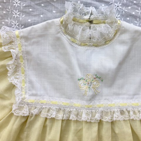 847ff01fc 🕊💛Pale yellow vintage babydoll nighty top💛🕊 This item a - Depop