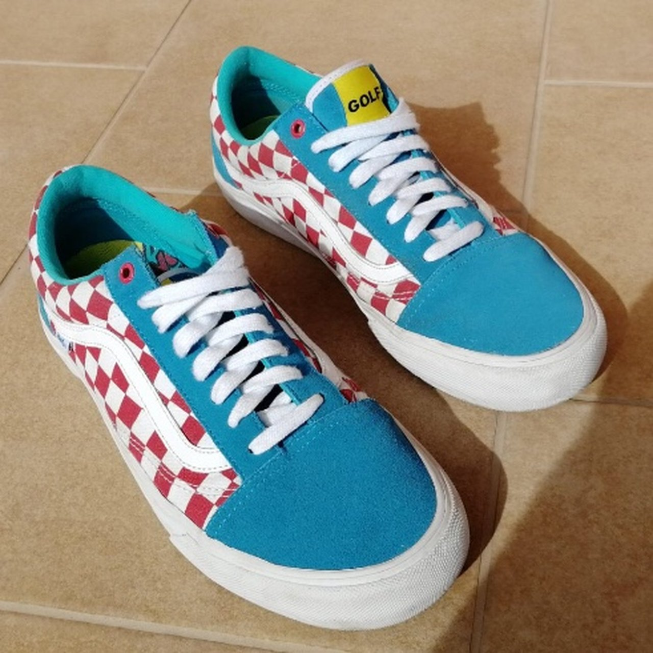 da10686b402c Want To Sell Golf Wang x Vans Old School Size  44 (10.5US - Depop