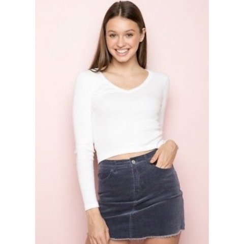 c3c8f4fb3c @emmahaynes_. 26 days ago. Godalming, United Kingdom. Corduroy brandy  Melville skirt ...