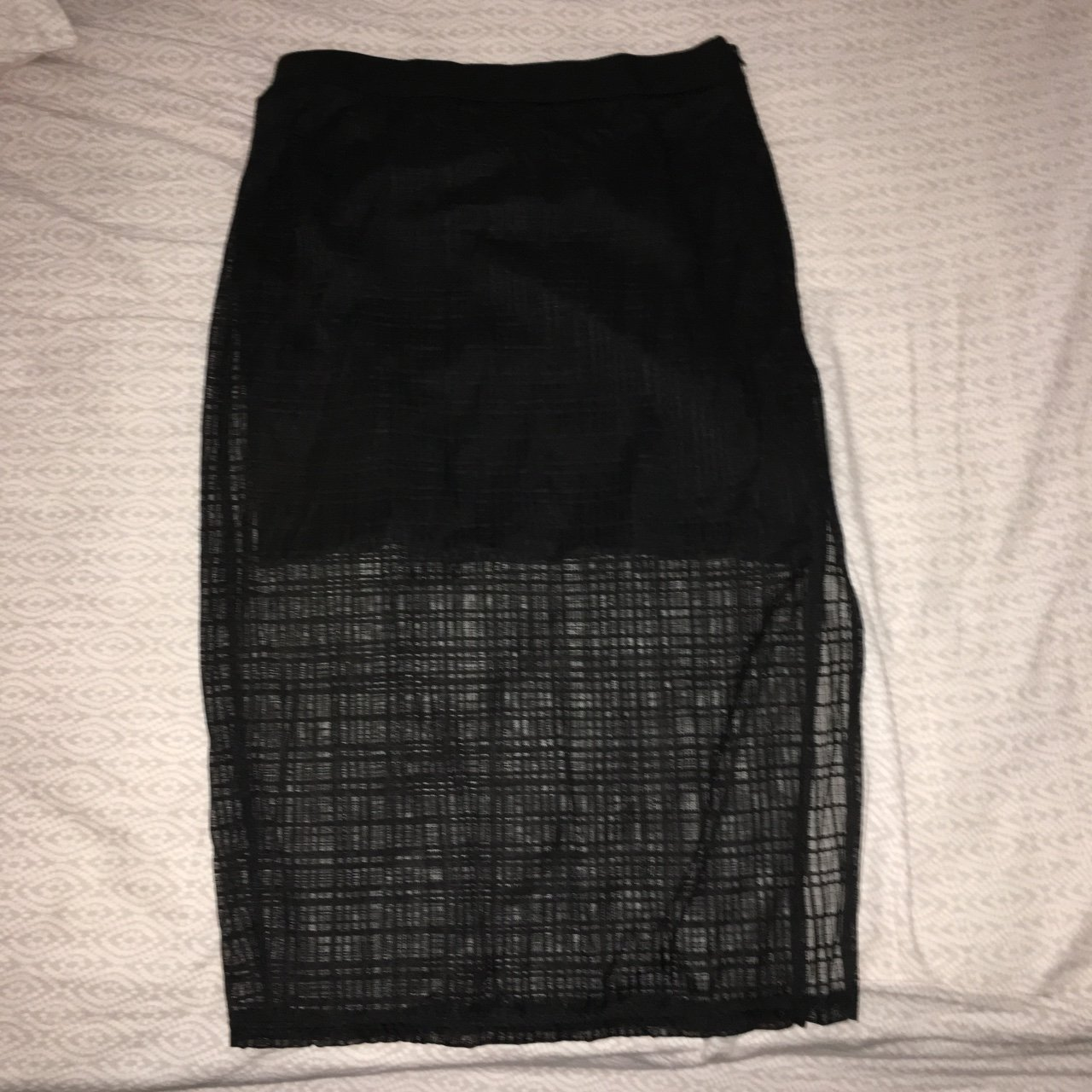 Evil twin skirt Never worn Would fit a 10-12 Free shipping - Depop f2110f74252b