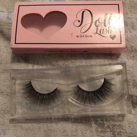 566b07a7eea Doll beauty Ginger lashes, brand new I work for the company - Depop