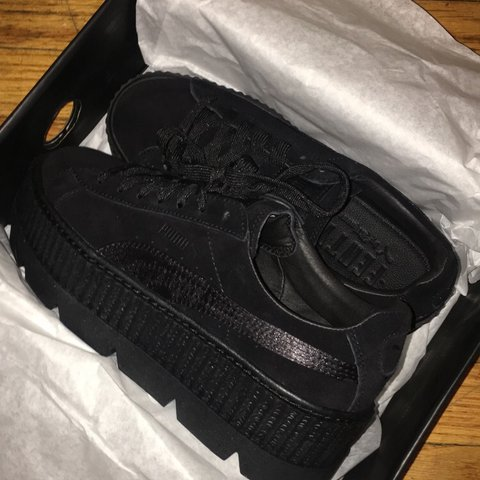 4711d739826 Fenty PUMA by Rihanna Suede Cleated Creeper. BRAND NEW NEVER - Depop