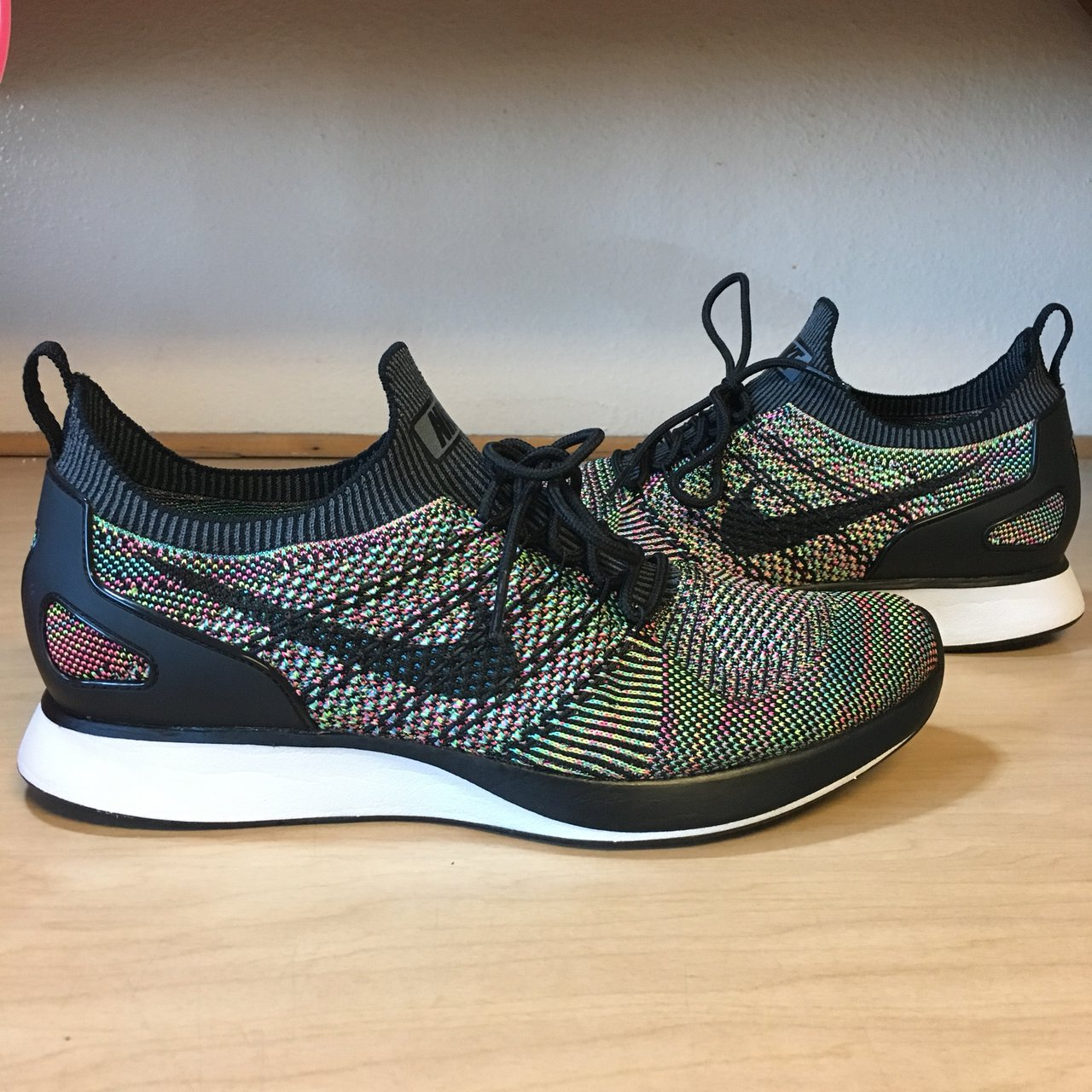 6209688c619c0 Nike Air Zoom Mariah Flyknit Racer  Multicolor  Worn once. - Depop