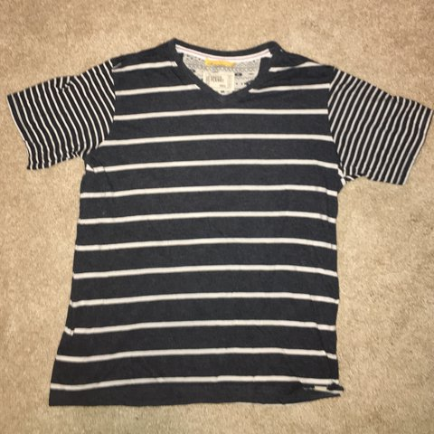 Free Planet Striped T Shirt Men S Size Small Barely For 25 Depop