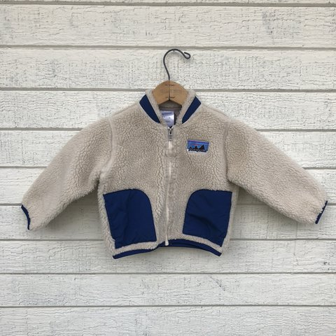 461c21ee7ef93 Patagonia Retro X fleece jacket. Fits a baby 18 month. and - Depop