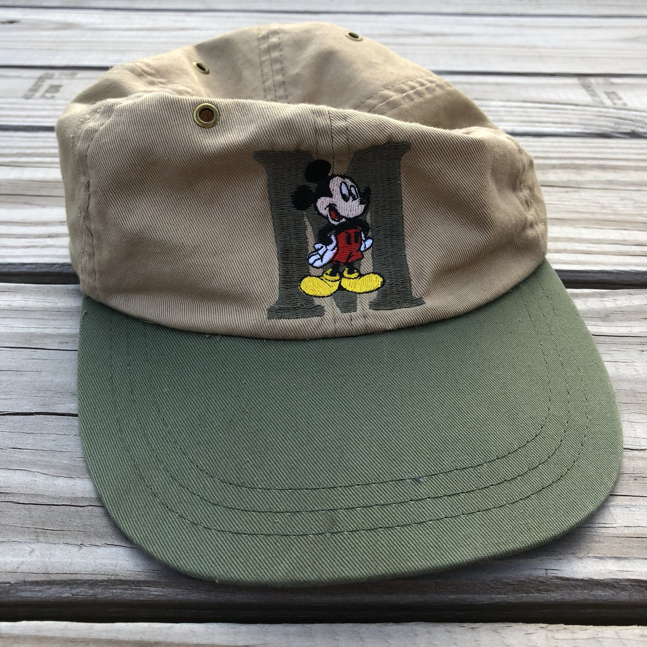 c52f5885432  kidstablevintage. 2 months ago. United States. Vintage embroidered Mickey  Mouse elastic hat. Tags  stitch ...