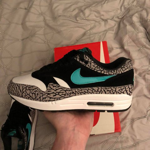 watch 92165 df498  manusman. last year. Drumahoe, Derry, United Kingdom. Nike air Max 1 atmos  Elephants.