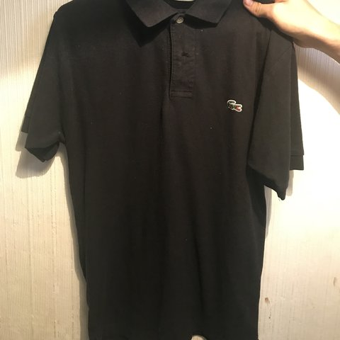 6e941c60be @riakellyx. 3 months ago. Burnley, United Kingdom. Men's black Lacoste polo  shirt. NEVER BEEN WORN ...