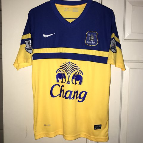 5a50e0338 Authentic Everton Nike Soccer Dri-Fit Jersey from '13-'14 - - Depop