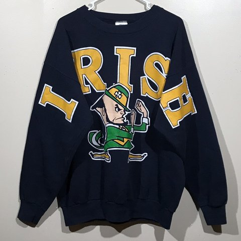 d77b63b49 @enyikelly. 5 months ago. Hoover, United States. Vintage Made in USA Notre  Dame Fighting Irish Crewneck Sweatshirt