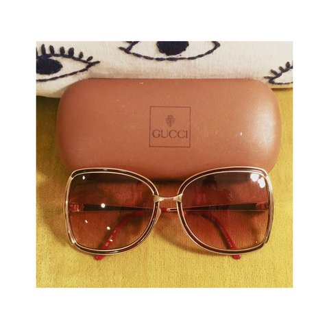 720294f534e Gucci sunglasses from the 70 s.Oversized