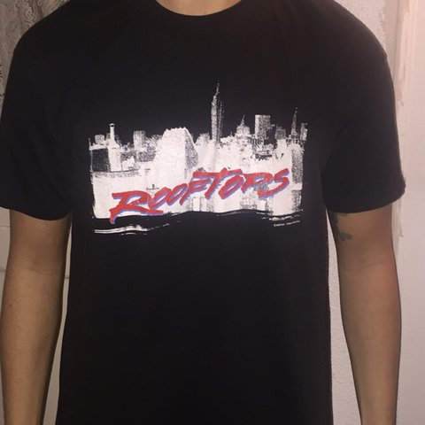 0e37291faa @fritzsender. 3 hours ago. Los Angeles, United States. Vintage rooftops movie  shirt great condition xl but fits ...