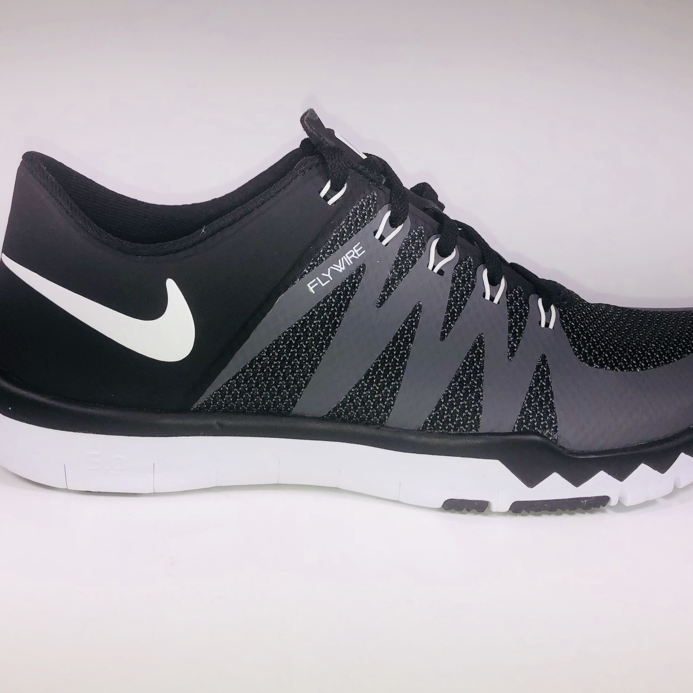 wholesale dealer 3bbed cb073 Nike Free Trainer 5.0 V6 Black, Grey & White... - Depop