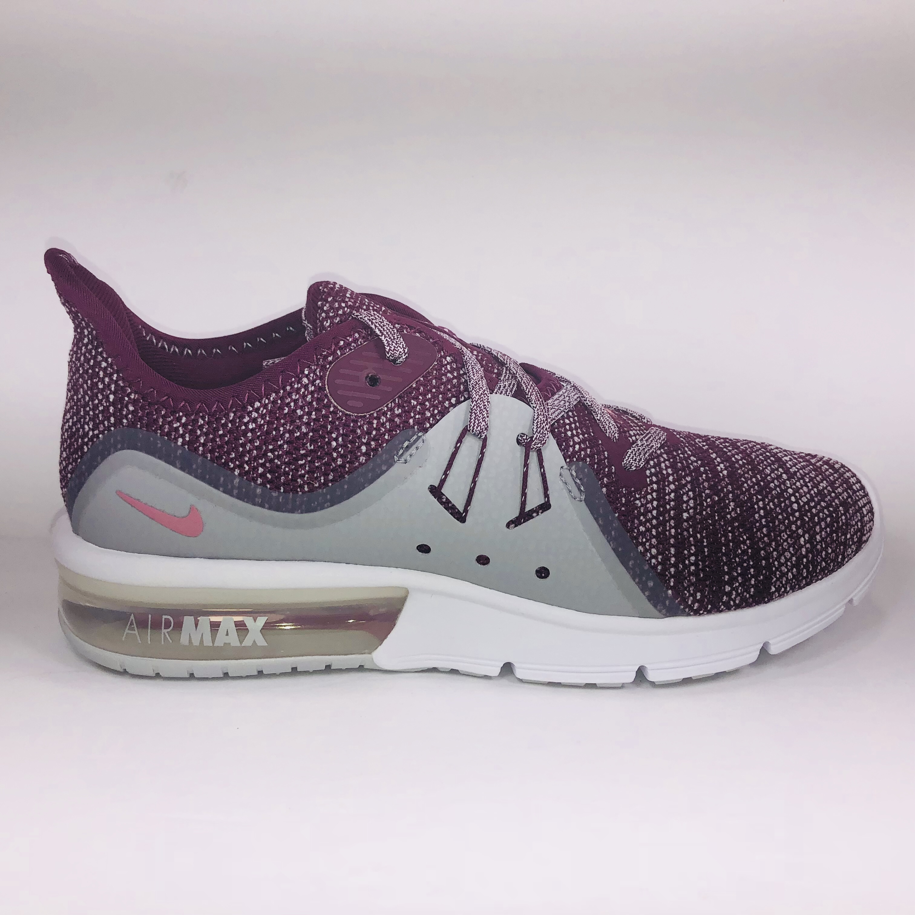 Womens Nike Air Max Sequent 3 Bordeaux, Pink, Grey