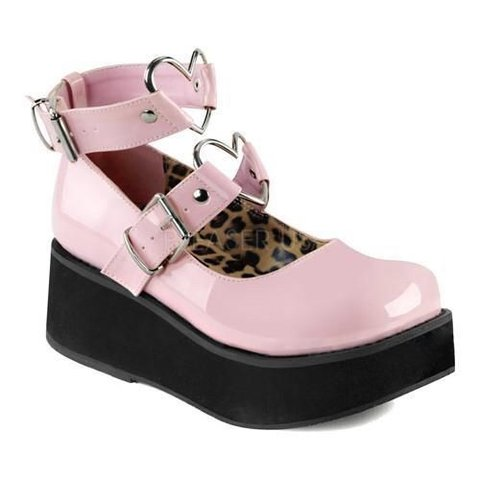 6434bf5c50bf Brand new Demonia pink cry baby Mary Jane shoes.💕 Never on. - Depop