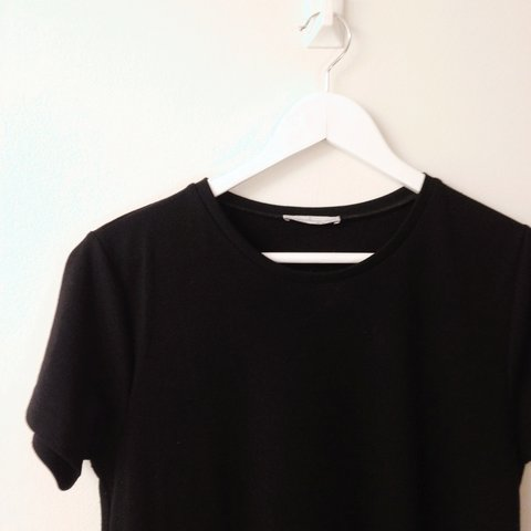 c912e48c @vintagesunshine. 3 years ago. Manchester, UK. TRF at Zara black t-shirt  dress/tunic in size Large. Only worn once ...