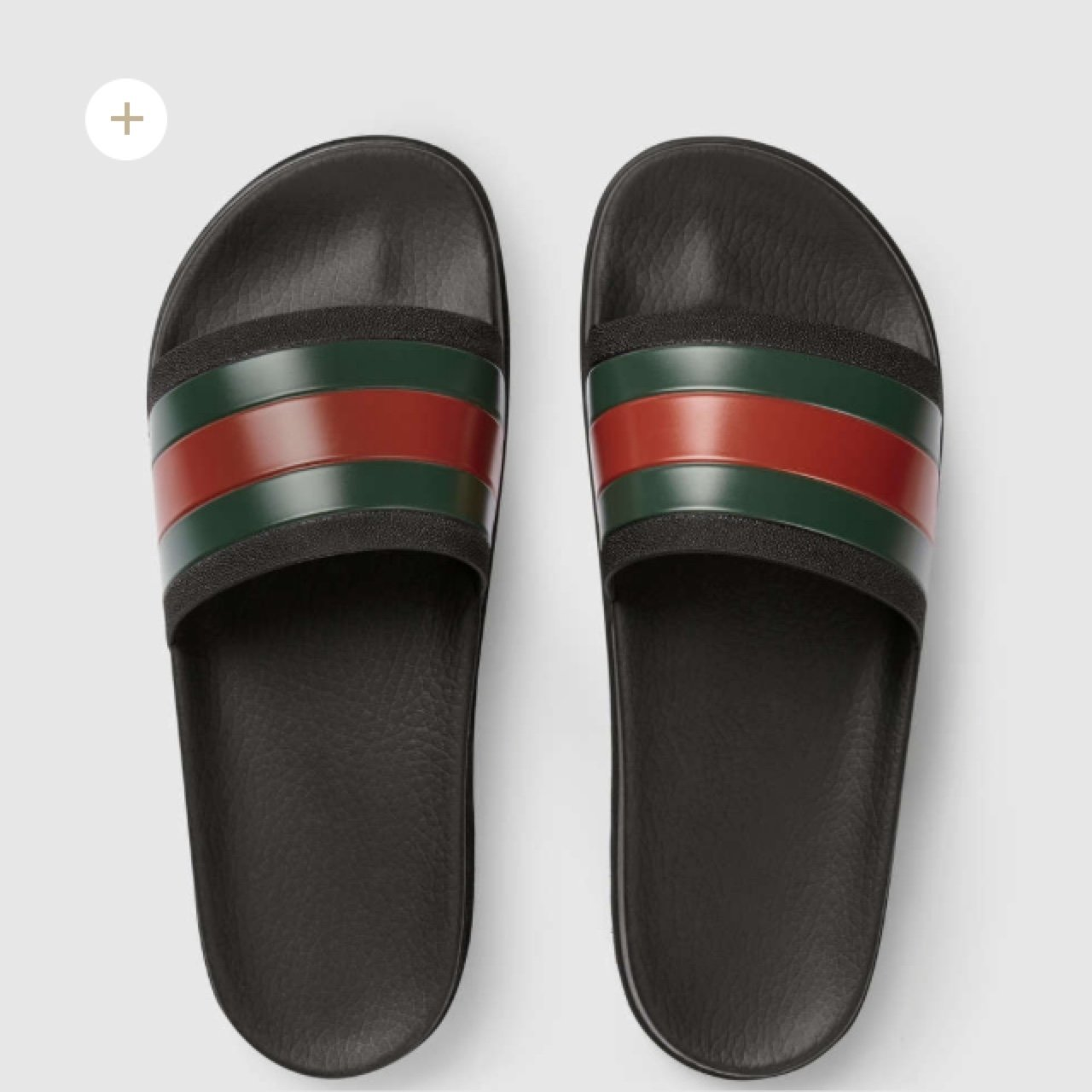aaf66a72ae7a69 Gucci slide sliders flip flops. Size 6. Sold out everywhere - Depop