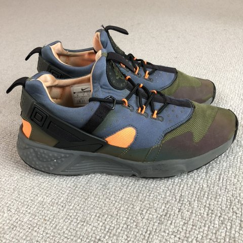 fc3a264c4557 Nike Air Huarache Utility Carbon Green. UK 7. Some marks - Depop