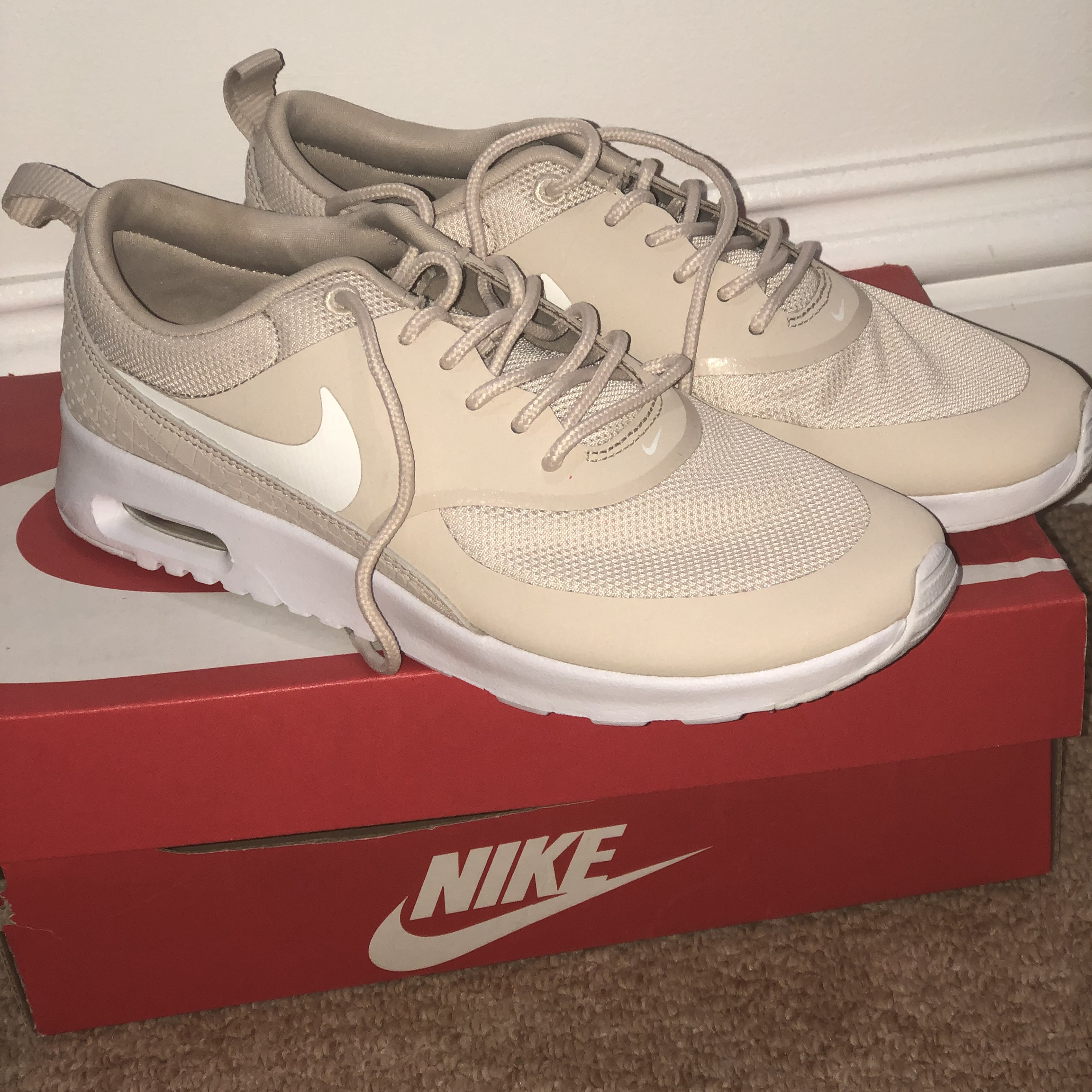 Nike air max Thea women's shoe: LIMITED EDITION Depop