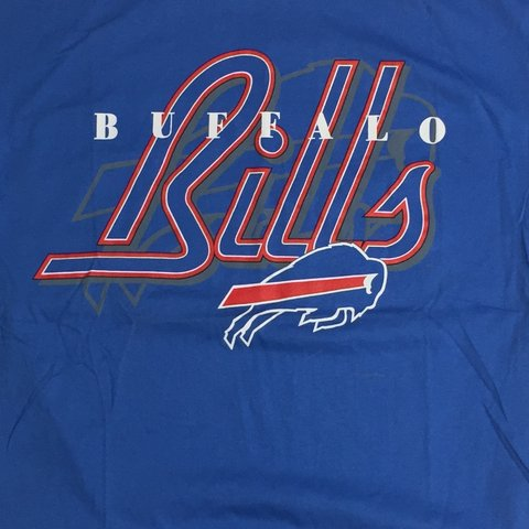 9d2dc3d762f Vintage deadstock Buffalo Bills shirt from the 90's, size - Depop