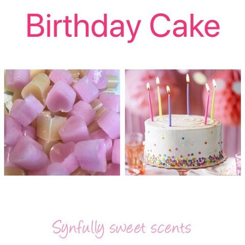 NEW SCENT Birthday Cake LAST ONE Handmade With Love By