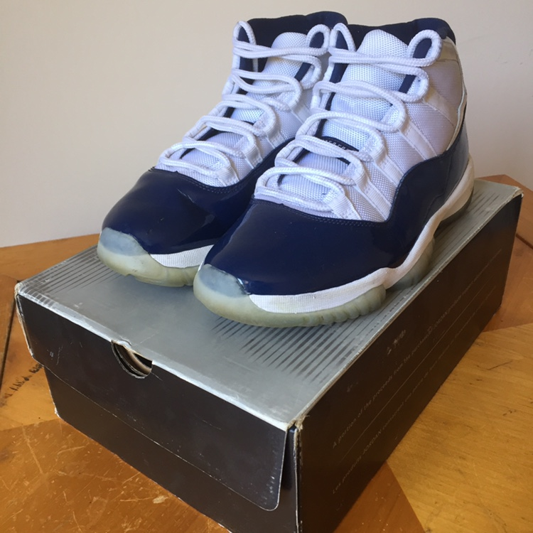 """new style 95f45 d0aa5 Air Jordan 11 """"Win Like 82"""" Size 8 Condition... - Depop"""