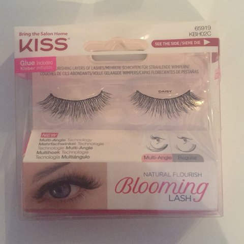 c540d26d98b @salma_rauf. last year. Bury, United Kingdom. KISS BLOOMING LASH DAISY  EYELASHES Brand new. Delivery included in price