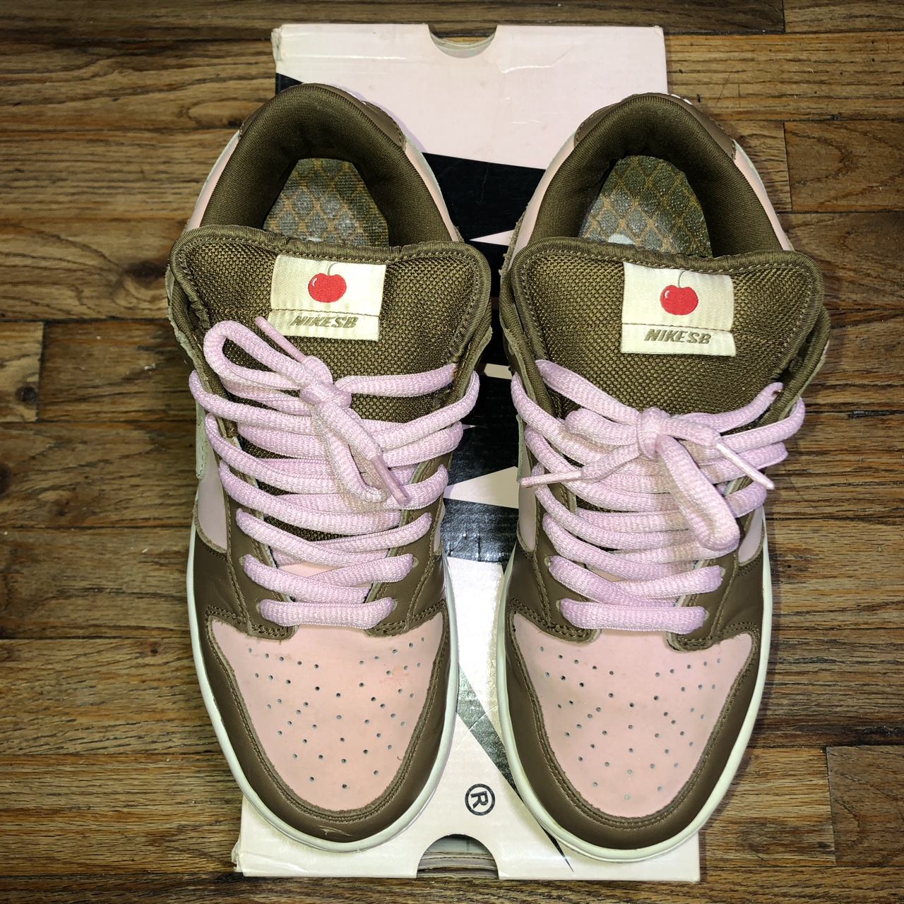separation shoes 62b71 1a889 2005 release of the Stussy x Nike SB Dunk Low... - Depop