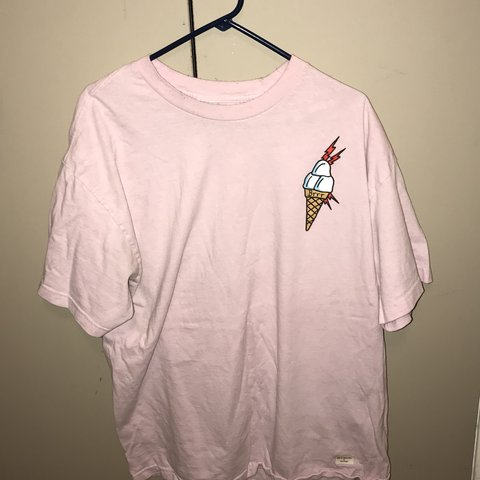 e65d39860 @dannybeguxxi. 11 months ago. Corpus Christi, United States. Gucci Mane  pastel pink ice cream T-Shirt ...