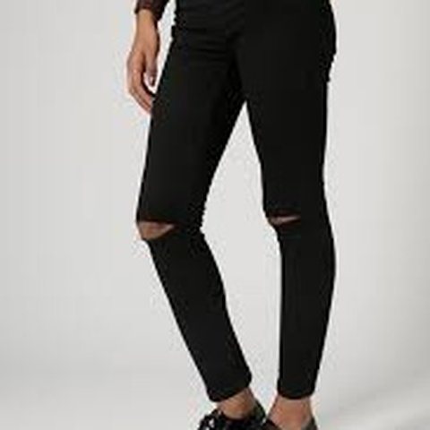 cf91b7373f0 @abstractreverie. 5 months ago. Hull, United Kingdom. Topshop Black Distressed  Jamie Jeans. Ripped Knees.
