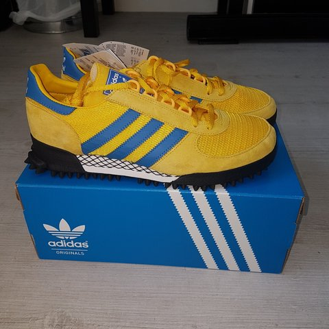 the best attitude 4df58 67fcc  kylemitchell5. 9 months ago. Dundee, Dundee City, United Kingdom. Adidas  marathon tr (malmo) cw, size exclusive 1 800.