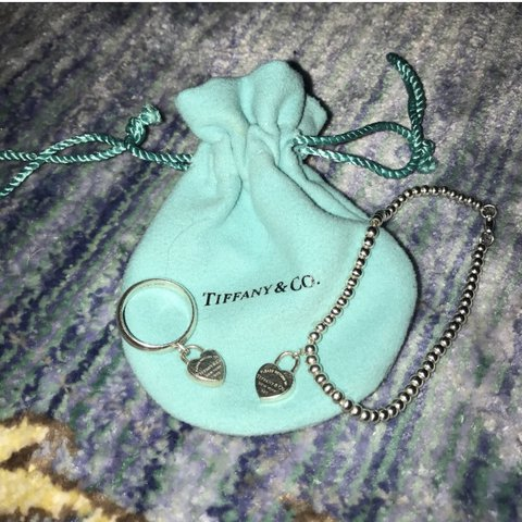 c0a1b81e77aad COMBO Tiffany   Co. Ring   Bracelet Matching! Inspired by a - Depop