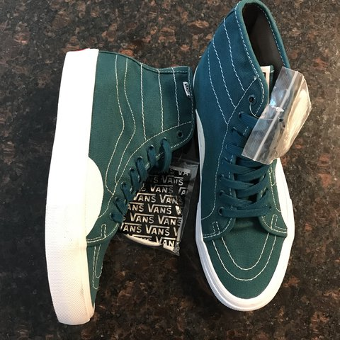 744a66139b Vans Shoes AV Classic High Pro Deep Teal Canvas Extra is a - Depop