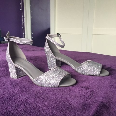 5f364eb22d0b @annabelharries. 3 months ago. Slough, United Kingdom. super cute sparkly, glitter  silver shoes ...