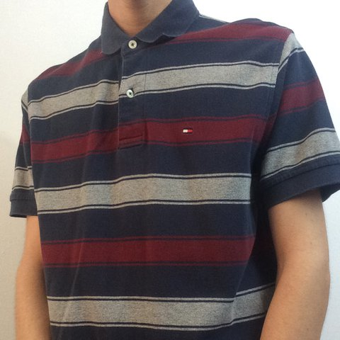 056c6c332061 Tommy Hilfiger Classic Fit Polo Shirt • Short Sleeved • Size - Depop