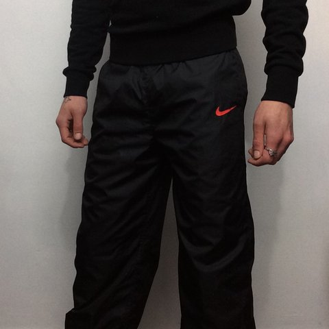 f850f973b08 Nike wet look trackies • Size XS • Very good condition • UK - Depop