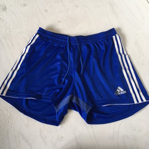 "c821e776b017 Adidas Performance football shorts • No label - fits 30""-34"" - Depop"