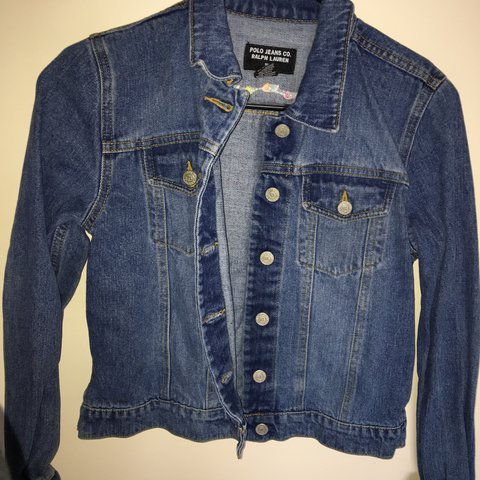 6e56250cfc Vintage Polo Jeans Ralph Lauren denim jacket 🌼NO FEE The - Depop