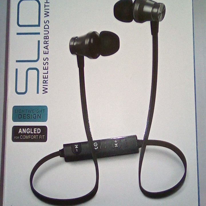 New Slide Wireless Earbuds With Mic Bluetooth Depop