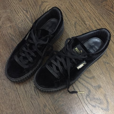 3a9f9f03be341d Rihanna Fenty puma velvet creepers. In good condition