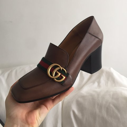 2f96e8571 @yeshellohi. 5 months ago. London, United Kingdom. Brand new Gucci loafers.  Never worn