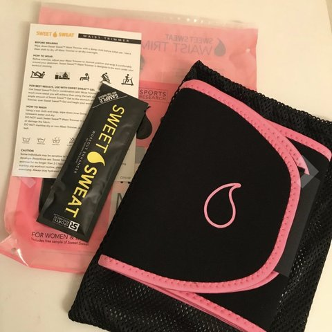 460a96069df  prettytiana. 14 days ago. United States. Sports Research Sweet Sweat  Premium Waist Trimmer (Pink ...