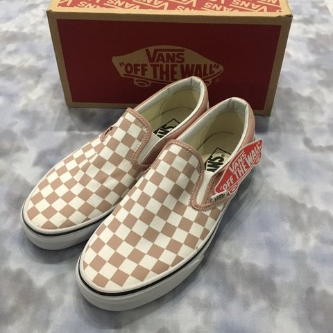 6a7088c34e75 VANS checkerboard classic slip-on mahogany rose true out 7