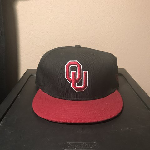 9641d3f17 ... spain on sale oklahoma sooners new era fitted hat in brand depop d0032  2dc60 ...