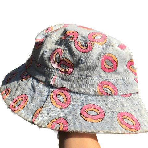 82002e35a2d7a Light Blue Odd Future Bucket Hat Tag says L XL but if you is - Depop