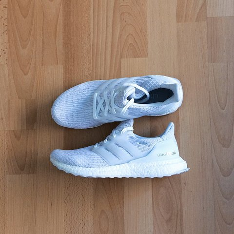 1e9763aa639d0 Almost new Women s Adidas Super Performance Ultra Boost in 7 - Depop