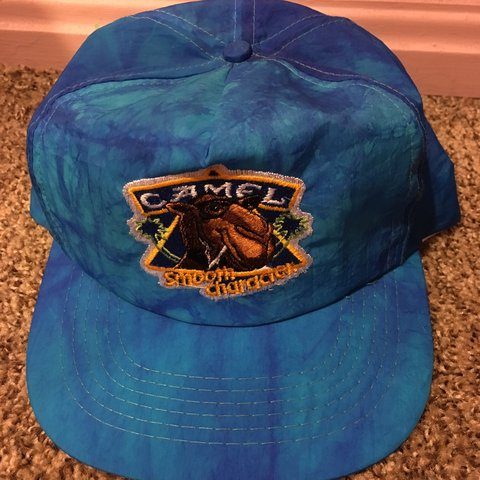 1ebfcbdb @thriftstorejobber. 7 months ago. Cleveland, United States. True vintage  new & unworn early 90's Smooth Character tie dyed snapback hat by Camel ...