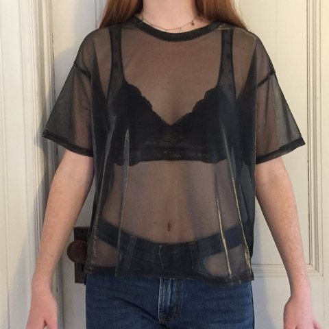 b8323aba65e04 Urban Outfitters Silence and Noise metallic shimmer mesh  4 - Depop