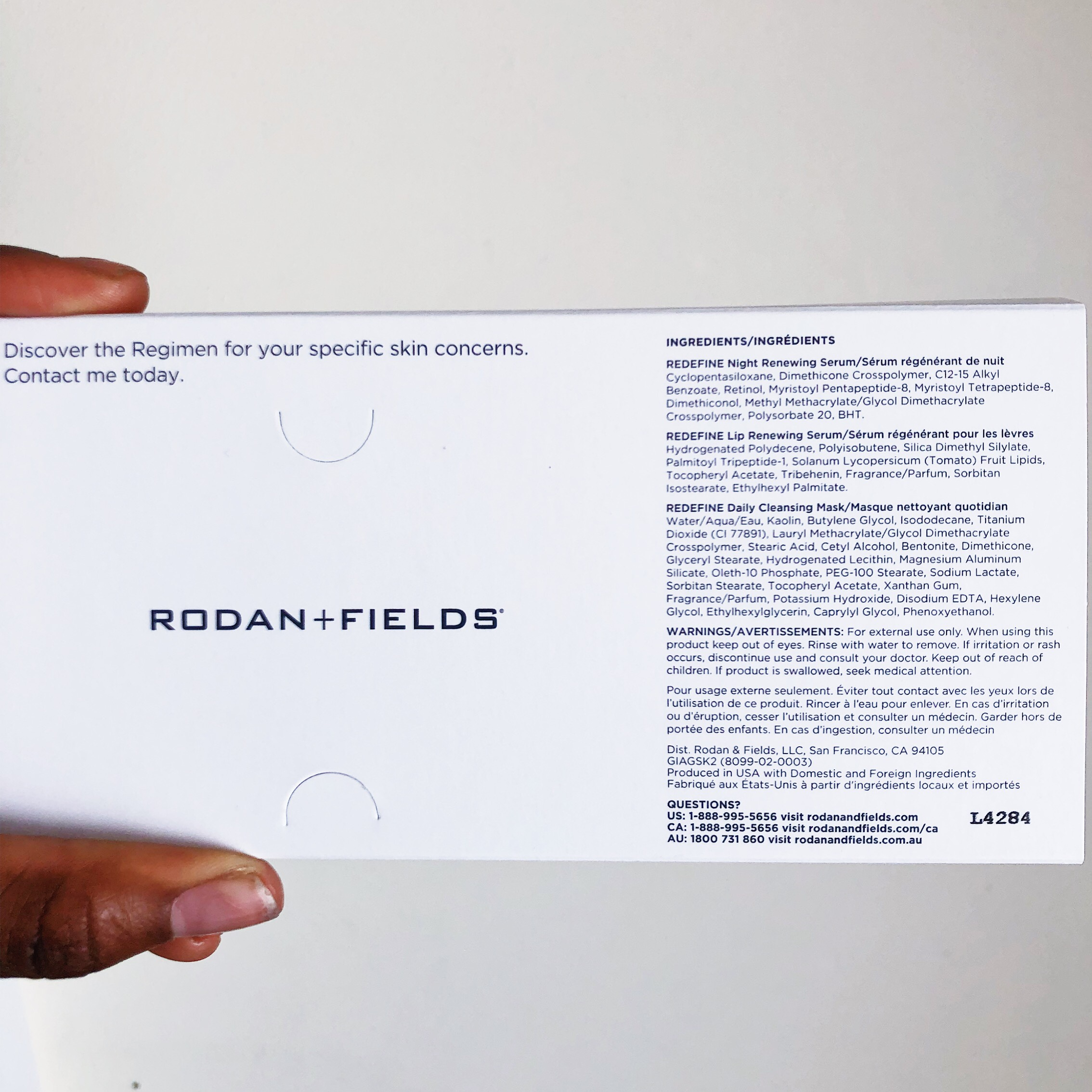🧖🏽 ♀️✨💆🏽 ♀️ - ' Rodan + Fields : Give It A Glow ' SAMPLE