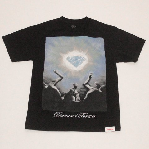 "c2722d67e709 CLASSIC diamond supply ""diamond forever"" tee Size: M Price: - Depop"
